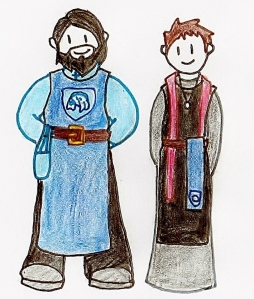 belt sash knight and priest